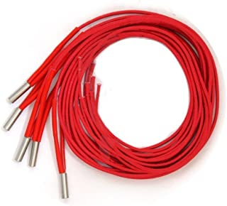 24v 40w 6x20 Heater Cartridge Cable for MAKERBOT CTC Anet Prusa Reprap 3D Printer Hot End Parts (Pack of 5)