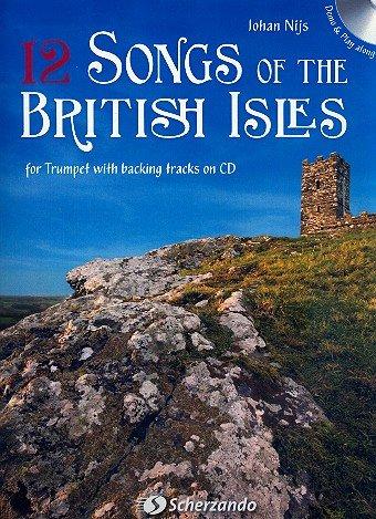 12 nummers van de Britse Isles (+CD): voor trumpet