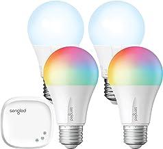 Smart Light Bulb,Sengled Color Changing Lights,E26 RGB Light Bulbs That Work with Alexa,Echo,Google Home,8.6W(60W Equivale...