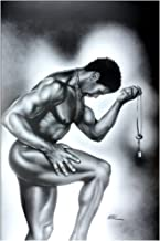 US Art Lock & Key Male by WAK Kevin A. Williams 24x36 Black Art Print Poster African-American