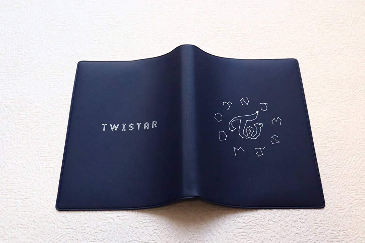 慎重普遍的ないとこTWISTAR Twice公式ファンクラブ ブックカバー 文房具 A6サイズ Twice トワイス 韓流アイドル kpop IDOL グッズ