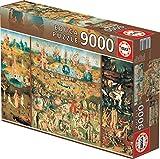 Educa - XXL Puzzles, El Jardin de las Delicias, Puzzle Gigante de 9.000 piezas (Ref. 14831)