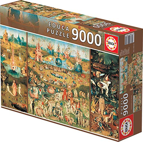 Educa 9,000 Piece Puzzle - The Garden of Earthly Delights