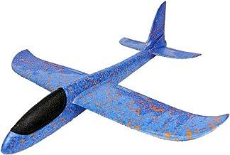 TOOGOO Divertido EPPThrowing Glider Avion Inercia Avion de Juguete Lanzamiento de Mano Modelo de Avion