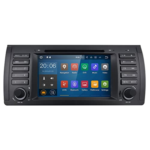 JVC DAB //USB//AUX coche radioset para bmw 5er e39 /& x5 e53