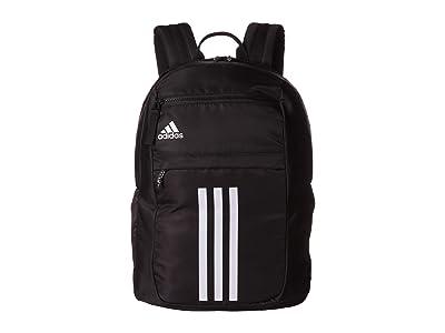 adidas League 3 Stripe Backpack (Black) Bags