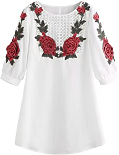 Embroidered lace Dress Ladies Fashion Sweet Summer Casual Dress Party Temperament Mini Dress MEEYA