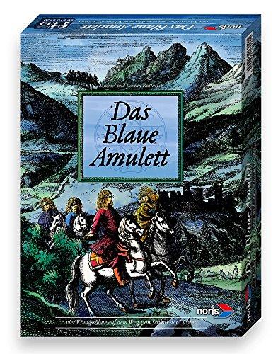 Noris 606106920 - Das blaue Amulett, Familienspiel