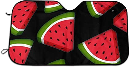Watermelon Car Windshield Sun Shade Window Sunshade Keeps Vehicle Cool Universal for Car,SUV,Trucks Block UV and Heat