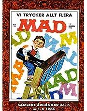 MAD - samlade årgångar. Del 5, Nr 1-6 1964