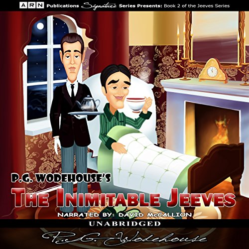 The Inimitable Jeeves  By  cover art