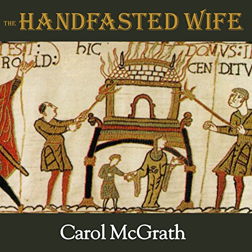 The Handfasted Wife audiobook cover art