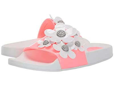 Marc Jacobs Daisy Pave Aqua Slide (Pink Multi) Women