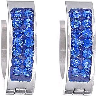 Flying Jewellery Silver Plated Hoop Earrings, Clip Closure