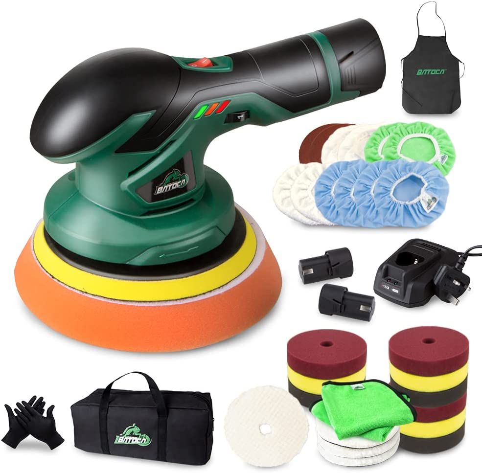 BATOCA - Cordless At the price Directly managed store Car Buffer Polisher Recharg Lithium 12V with