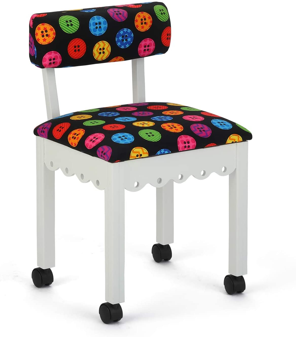 Arrow 8011 Wood Sewing and Craft Chair Design Gingerbread a with Max 61% OFF Cheap mail order specialty store