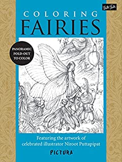 fairy images to colour