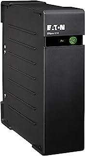 Eaton Ellipse Eco 650 USBIEC, Sistema de alimentación ininterrumpida (SAI) de 650 VA con protección contra sobrevoltaje (4 Salidas IEC), Negro