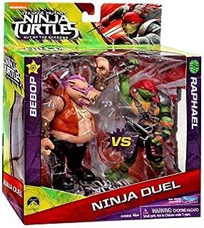 Teenage Mutant Ninja Turtles Out of the Shadows Ninja Duel Bebop vs Raphael 5