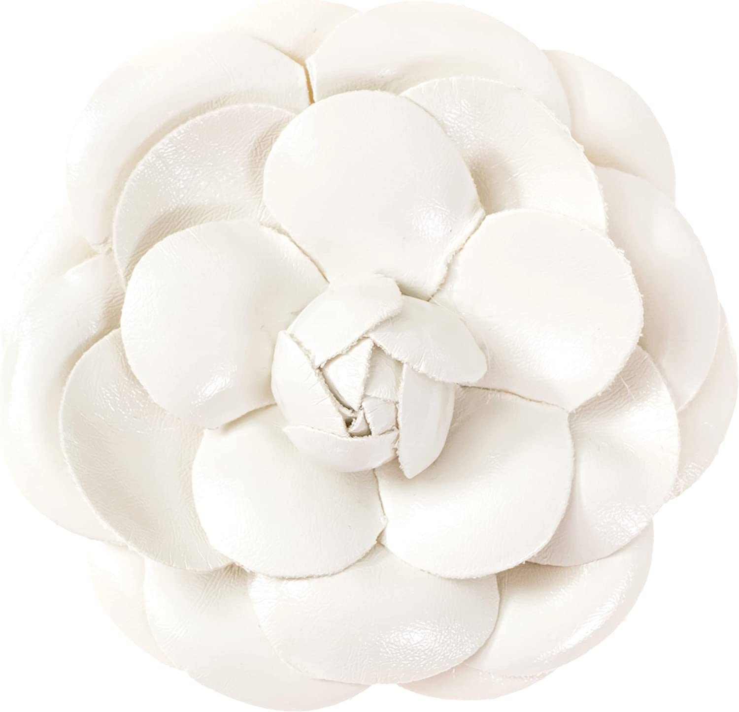 MISASHA fashion jewelry women's camellia flower pin brooch with organza gift bag