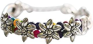 AyA Fashion Metal Oxidized Silver and Bracelet for Women & Girls