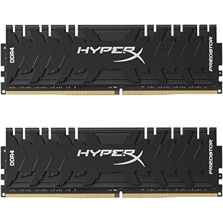 HyperX Predator Black 16GB 3200MHz DDR4 CL16 DIMM XMP Desktop Memory HX432C16PB3K2/16