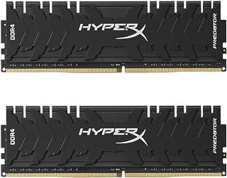 HyperX Predator - Memoria RAM de 16 GB (DDR4, Kit 2 x 8 GB, 3333 MHz, CL16, DIMM XMP, HX433C16PB3K2/16 )