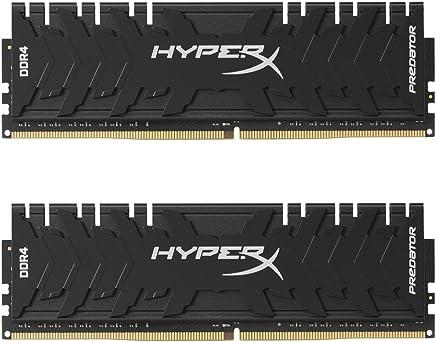 HyperX Predator HX433C16PB3K2/16 - Kit de 16 GB (2 x 8 GB) 3333 MHz DDR4 CL16 DIMM