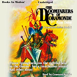 The Doomfarers of Coramonde audiobook cover art