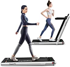SAFEPLUS 2 in 1 Under Desk Folding-Treadmill with Installation-Free for Home Office Gym Use