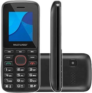 Celular Up Play Dual Chip Tela 1.8 Pol Multilaser Bluetooth USB C/Câmera Preto