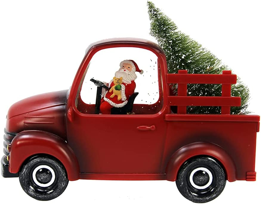 San Francisco Music Box Musical Santa in Special Campaign with Spinning Truck Red Max 66% OFF