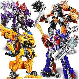 Transformer Toy King Kong 5 Model Car Robot Hornet Dinosaur Movie ( Color : K )