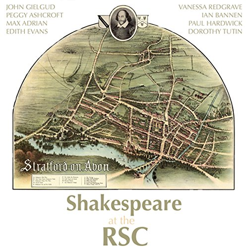 Shakespeare at the RSC audiobook cover art