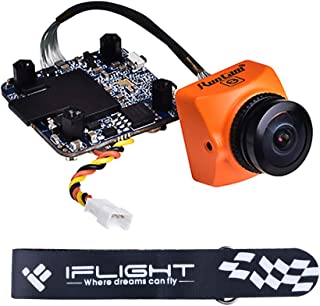 iFlight RunCam Split 3 Micro FPV Camera 1080P 60fps HD Recording with WDR Low Latency TV-Out Switchable 5-20V FOV 130° Recording FOV 165° for FPV Drone Quadcopter Multicopter
