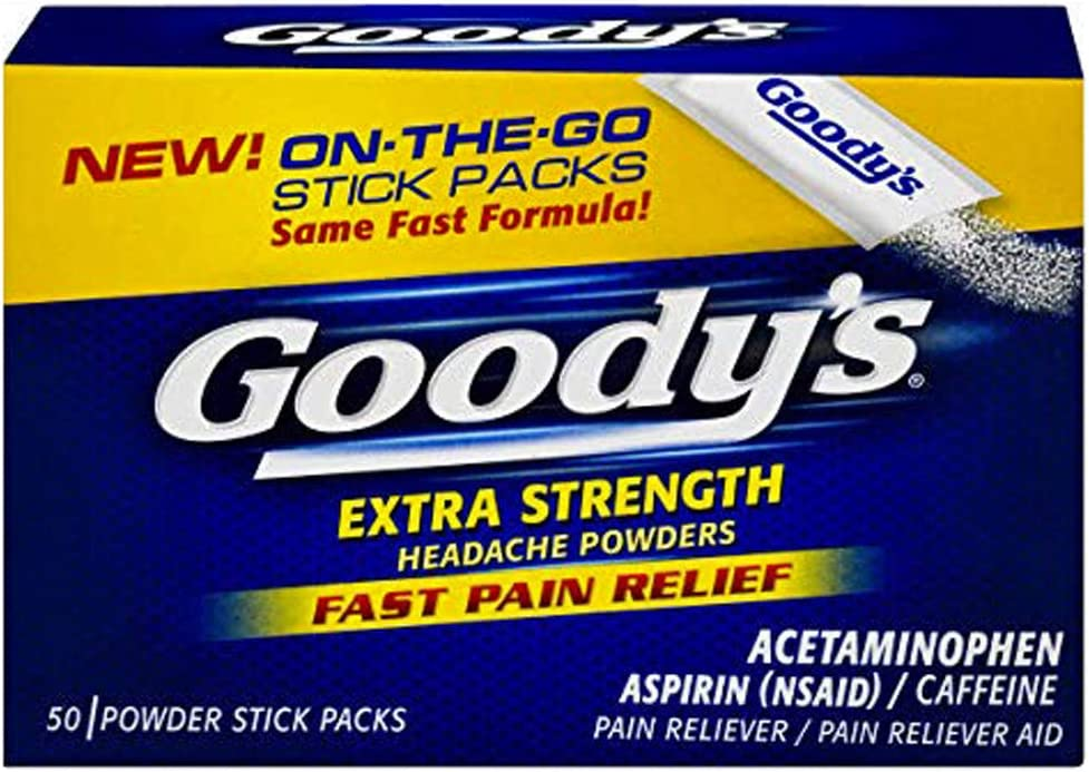 Goody's Headache Powders In stock Extra Strength Ranking TOP14 50-Count Boxes Pack o