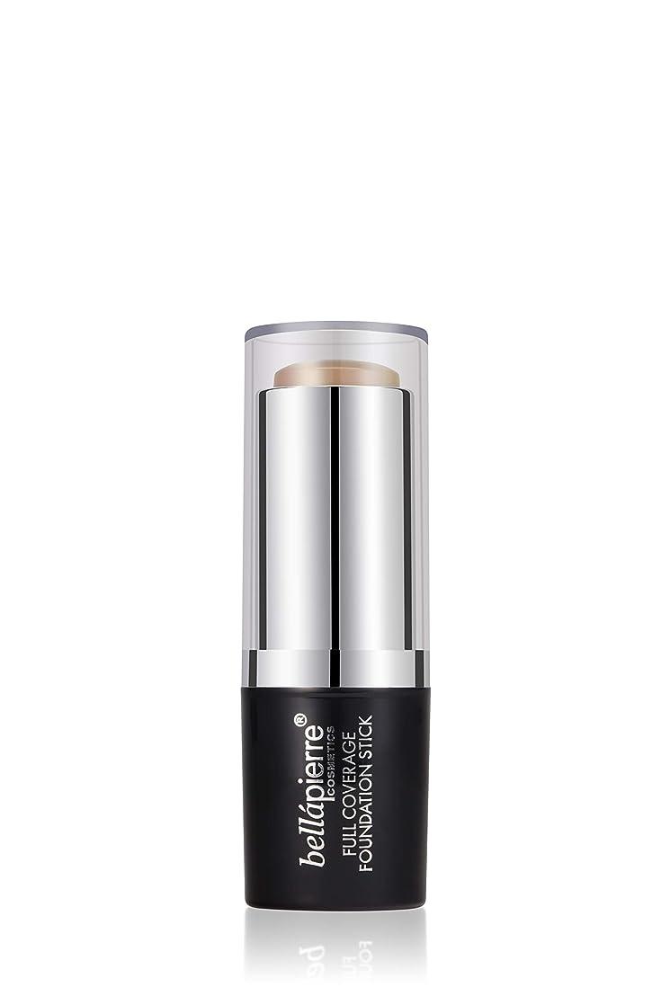 雑種放射能チューブBellapierre Cosmetics Full Coverage Foundation Stick - # Medium 10g/0.35oz並行輸入品