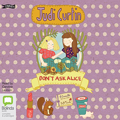 Don't Ask Alice audiobook cover art