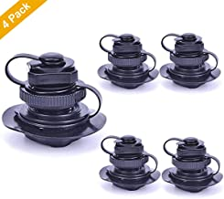YaBland Inflatable Valve Replacement Air Valve Raft Air Valve with Spiral Cap Rib Screw Air Plug&Cap,Twist Lock for Intex/jilong Boats/bestway/Kayak Airbeds Boats Rubber Dinghy Pools Durable