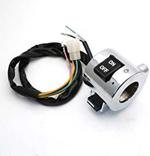 yunshuo Interruptor de luz de freno motocicleta Scooter GY6/50/150/250/Gas Scooter Taotao rokeata baja