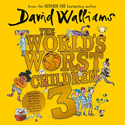 The World's Worst Children 3                   By:                                                                                                                                 David Walliams                               Narrated by:                                                                                                                                 David Walliams,                                                                                        Jon Culshaw,                                                                                        Nitin Ganatra,                   and others                 Length: 3 hrs and 14 mins     497 ratings     Overall 4.6