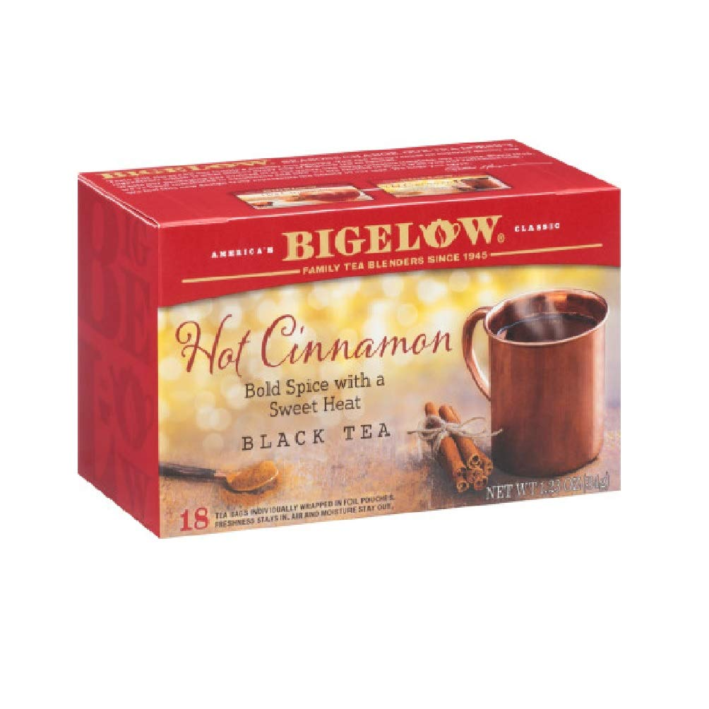 Bigelow Tea Cinnamon Case 6 18
