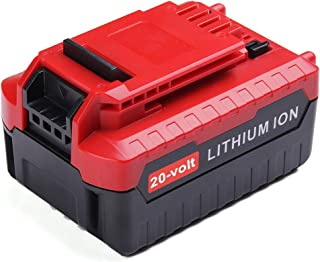 20-volt Max 4.0ah PCC685L, MASIONE Lithium Ion Battery for Porter Cable PCC680L PCC682L PCC685LP Cordless Tools 4.0-Amp Hour Extended Battery Pack(NOT for Craftsman)