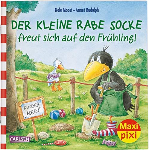 Maxi Pixi 290: Der kleine Rabe Socke freut sich auf den Frühling