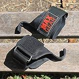 Gearmax Weight Lifting Cross FIT Wrist Hooks