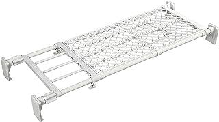 平安伸銅工業 突っ張り棚 超強力 ワイド メッシュ ホワイト 耐荷重60~40kg 幅75~120cm RB-11