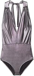 MANGO Bodysuits For Women Free Size, Black, Size Free Size