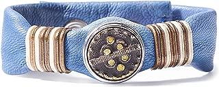 Noosa Unisex Wabi Sabi bracelet harmony - tie dye blue