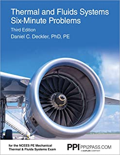 Thermal and Fluids Systems Six-Minute Problems