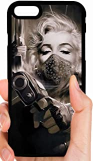 Marilyn Monroe Gangster with A Gun Phone Case Cover - Select Model (Galaxy S5)